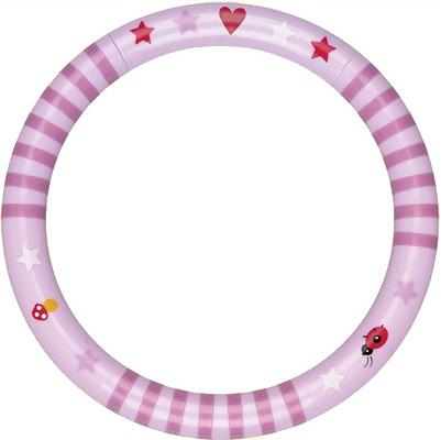Spiegelburg - Ringrassel Baby Glück rosa