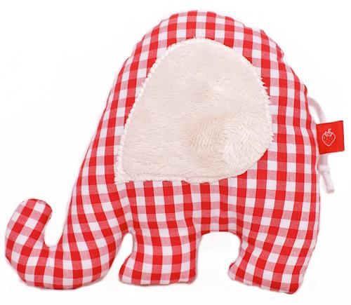 La Fraise Rouge - Greifling Fanti rot/weiß Vichy Karo