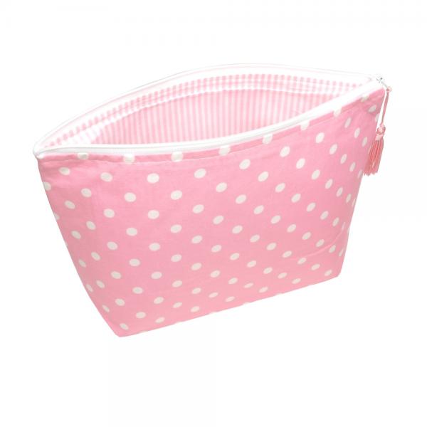 Sugarapple - Windeltasche Pünktchen rosa