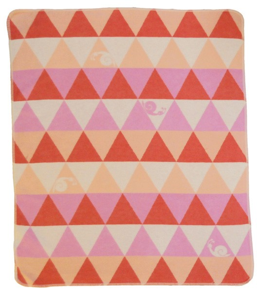 David Fussenegger - Babydecke Dreieck rosa