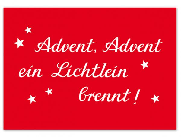 Krima & Isa - Postkarte Advent, Advent