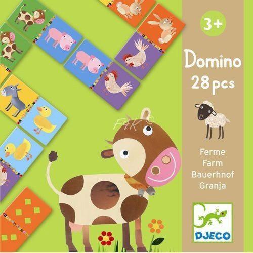 Djeco - Domino Bauernhof