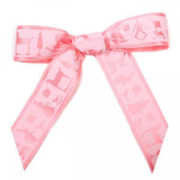 Krima & Isa - Schleifenband Meterware Spielwaren rosa