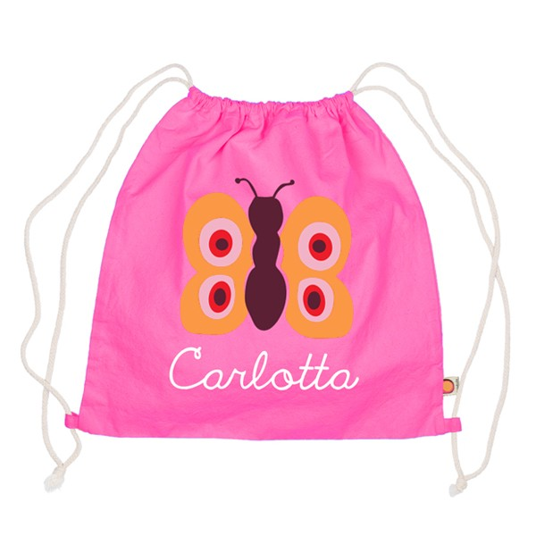 Holubolu Turnbeutel Schmetterling mit Namen