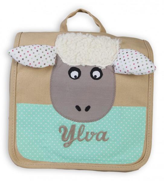 Kindergartentasche beige Schaf Ylva